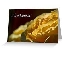 In Sympathy Greeting Card