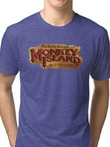 Monkey Island 2 logo Tri-blend T-Shirt