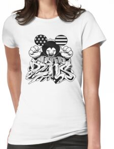 Walt Dzy Womens Fitted T-Shirt