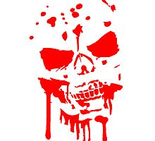 Skull Head skull blood zombie by Style-O-Mat