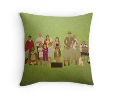 Moonrise Kingdom Cast Throw Pillow