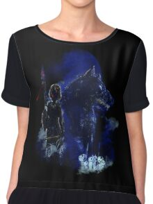 warriors of the forest Chiffon Top