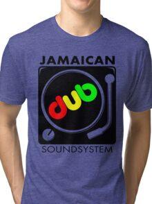 Jamaican Dub Sound System Tri-blend T-Shirt
