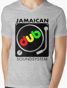 Jamaican Dub Sound System Mens V-Neck T-Shirt