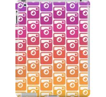 Insta Sunset Cameras Pattern iPad Case/Skin