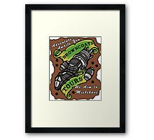 Browncoats Tours Framed Print