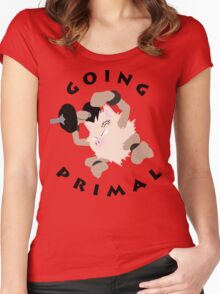 Going Primal Women's Fitted Scoop T-Shirt