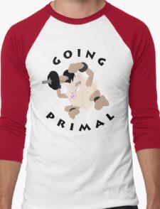 Going Primal Men's Baseball ¾ T-Shirt