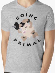 Going Primal Mens V-Neck T-Shirt