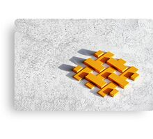 Bankers blocks. Canvas Print