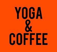 Yoga and Coffee Unisex T-Shirt