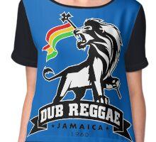 Dub Reggae Jamaica Chiffon Top