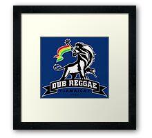 Dub Reggae Jamaica Framed Print