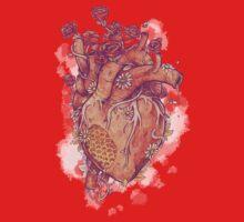 Sweet Heart One Piece - Short Sleeve
