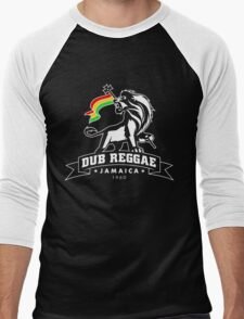 Dub Reggae Jamaica - Black Edition Men's Baseball ¾ T-Shirt
