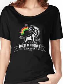 Dub Reggae Jamaica - Black Edition Women's Relaxed Fit T-Shirt
