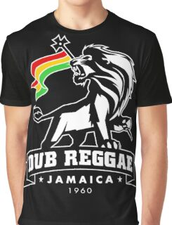 Dub Reggae Jamaica - Black Edition Graphic T-Shirt