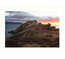 Castle Point - Wairarapa - New Zealand Art Print