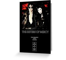 This Corrosion - The Sisters of Mercy - The world's End Greeting Card