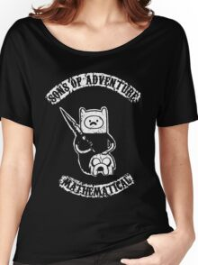 Sons of Adventure Time Anarchy Mathematical Jake Finn Women's Relaxed Fit T-Shirt