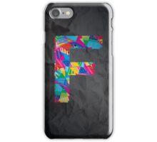 Fun Letter - F iPhone Case/Skin