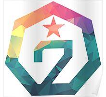 GOT7 Logo - White T-Shirts T-Shirt  Poster