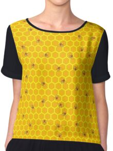 Mind Your Own Beeswax Chiffon Top