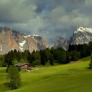 The evening light in the Dolomites by annalisa bianchetti
