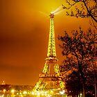 Paris at night by AntonAlberts
