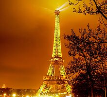 Paris at night by Anton Alberts