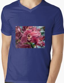 My Orchids 3 Mens V-Neck T-Shirt