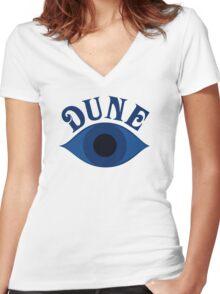 Dune by Frank Herbert Women's Fitted V-Neck T-Shirt