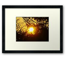 Sunset I Framed Print