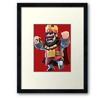 Roi Rouge Framed Print