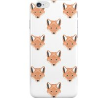Fox Illustration iPhone Case/Skin