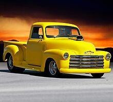 1953 Chevrolet Custom Pick Up 1 by DaveKoontz