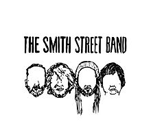 Smith Street Band Faces - Light Colours Photographic Print