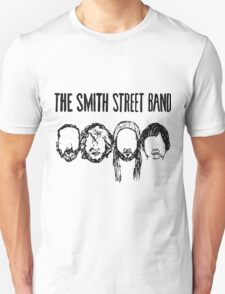 Smith Street Band Faces - Light Colours Unisex T-Shirt