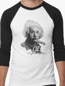 Al - Original Hipster (Albert Einstein, #2 in the Original Hipster Series) Men's Baseball ¾ T-Shirt