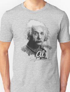 Al - Original Hipster (Albert Einstein, #2 in the Original Hipster Series) Unisex T-Shirt
