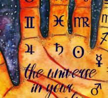 Palmistry and astrology Sticker