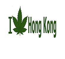 I Love Hong Kong by Ganjastan