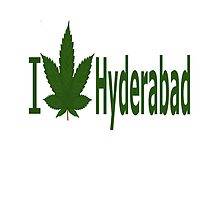I Love Hyderabad by Ganjastan