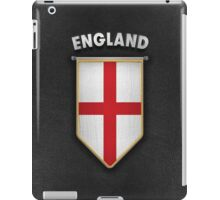 England Pennant with high quality leather look iPad Case/Skin