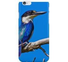 kingfisher in blue iPhone Case/Skin