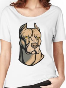 Pit Bull Head Women's Relaxed Fit T-Shirt