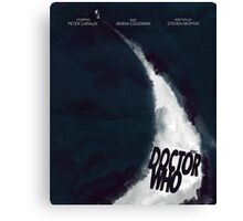 DOCTOR WHO POSTER Canvas Print