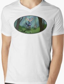 Prince of the Forest Mens V-Neck T-Shirt