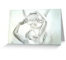 Cupid's kiss Greeting Card