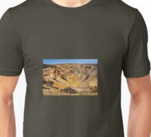 Parys Mountain on the Isle of Anglesey in North Wales Unisex T-Shirt